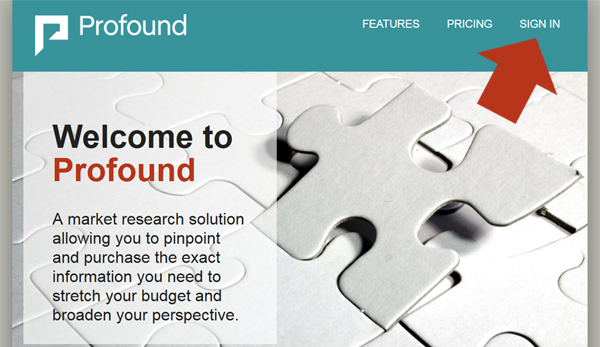 Profound Homepage Redesign