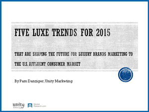 5 Luxury Market Trends for 2015 White Paper
