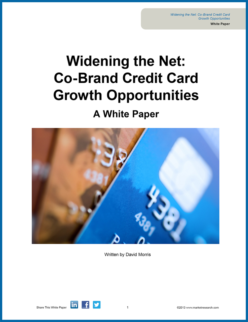 white paper detailing major growth opportunities in the co-branded credit cards industry