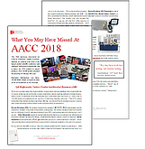 What You May Have Missed at AACC 2018