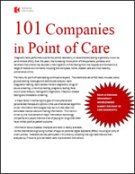 101 Companies in Point of Care Diagnostics