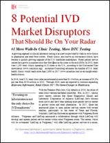 8 Potential IVD Market Disruptors