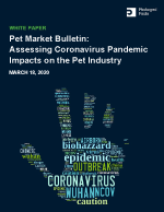 Pet Market Bulletin: Assessing Coronavirus Pandemic Impacts on the Pet Industry