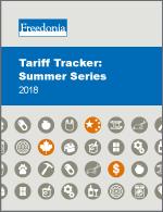 Tariff Tracker: Summer Series 2018