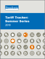 Tariff Tracker: Summer Series 2018
