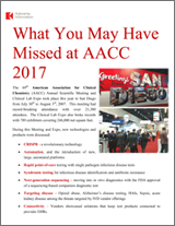What You May Have Missed at AACC 2017