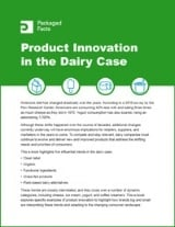 Product Innovation in the Dairy Case