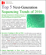 Top 5 Next-Generation Sequencing Trends of 2016